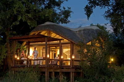 Accommodation at Chief's Camp, Okavango