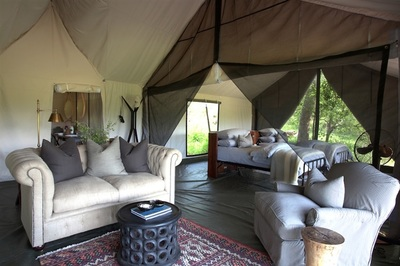 Family Suite, Machaba Camp, Botswana